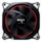 爱国者  极光RGB 12CM机箱风扇(小6针接口/支持多种风扇控制器/减震脚垫/赠4螺丝)产品图片2