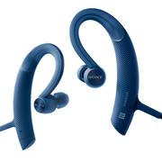 索尼 MDR-XB80BS 防水运动蓝牙耳机(蓝色)