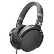 森海塞尔 HD 4.30i 线控可折叠封闭式 线控可通话耳机黑色