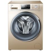 海尔  EG8014HB88LGU1 8公斤直驱变频洗烘一体滚筒洗衣机 蒸汽烘干防皱 静音纤薄525大桶径