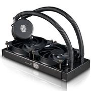 酷冷 MasterLiquid  240 CPU水冷散熱器(多平台/双腔水泵/微水道铜底/低噪)