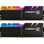 芝奇  Trident Z RGB系列 幻光戟 DDR4 2400频率 16G (8G×2)套装 台式机内存(RGB灯)