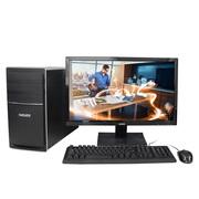 神舟 新瑞E20 D7S 台式办公电脑整机 (赛扬双核G1840 4G 1T) 21.5英寸