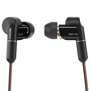索尼 XBA-N3AP Hi-Res混合驱动立体声耳机/耳麦 支持iPhone(黑色)