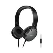 松下 RP-HF500M 黑色 立体声 通话耳机 音效强劲 可折叠便携