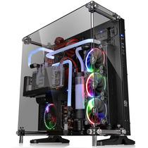 Thermaltake Core P5 TG 黑色 中塔机箱(支持ATX主板/5mm強化玻璃/开放式全景/弹性安装/模组化/双U3)产品图片主图