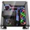 Thermaltake Core P5 TG 黑色 中塔机箱(支持ATX主板/5mm強化玻璃/开放式全景/弹性安装/模组化/双U3)产品图片2