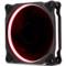 鑫谷 光韵12红色光圈风扇(12cm/双接口/减震静音/标配螺丝)产品图片1
