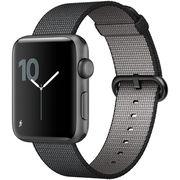 苹果 Watch Sport Series 2智能手表(42毫米深空灰色铝金属表壳搭配黑色精织尼龙表带 MP072CH/A)