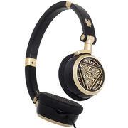 漫步者 H691 钢铁侠定制款音乐耳机 黑金色