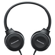 松下 RP-HF100M 黑色 立体声 可折叠便携 通话耳机 音质清晰