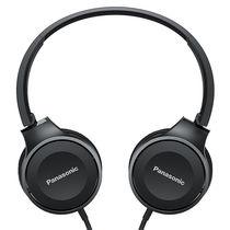 松下 RP-HF100M 黑色 立体声 可折叠便携 通话耳机 音质清晰产品图片主图