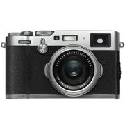 富士 X100F 数码旁轴相机 银色 23mmF2定焦镜头 2430万像素 混合取景器 复古  WIFI USB充电