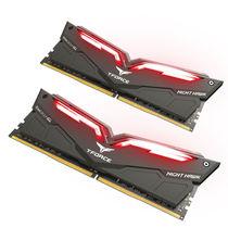 十铨 十铨(Team) 夜鹰系列 DDR4 3000 16G (8Gx2) 红色LED呼吸灯台式机内存产品图片主图