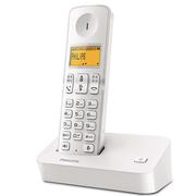 飞利浦 DCTG190 数字无绳电话机 中文显示/免提通话/家用办公电话机(白色)