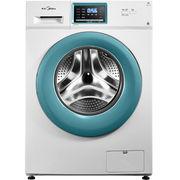美的 MG70V30WX 7公斤智能滚筒洗衣机 触摸屏设计 喷淋洗涤 智能时间控制
