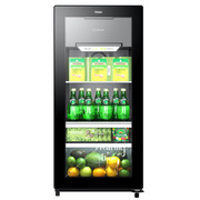 海尔 DS0120D 120升 家用可制冰冰吧 (黑色)