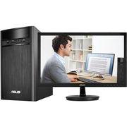 华硕 碉堡K31AN 台式电脑整机(四核J2900 4G 500GB GT720 2G独显 Win10 黑色)21.5英寸