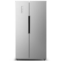 奥马 BCD-488WK 488升 对开门冰箱 风冷无霜 电脑控温 隐形门把手(闪耀银)产品图片主图