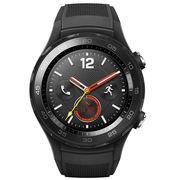 华为 WATCH 2 第二代智能运动手表蓝牙版 蓝牙通话 GPS心率FIRSTBEAT运动指导 NFC支付 碳晶黑