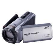 JVC GZ-R420 四防高清摄像机DV 家用户外运动 银色