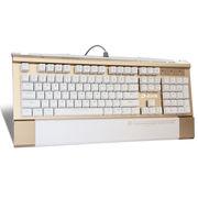达尔优 核金师DK104 背光版游戏机械键盘  青轴