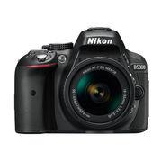尼康 D5300 单反套机 黑色(AF-S DX 18-55mm f/3.5-5.6G VR)