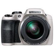 富士 S9800 长焦数码相机 白色(1600万像素 50倍光学变焦 3英寸LCD EVF取景器 )