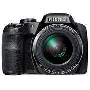 富士 S9800 长焦数码相机 黑色(1600万像素 50倍光学变焦 3英寸LCD EVF取景器 )