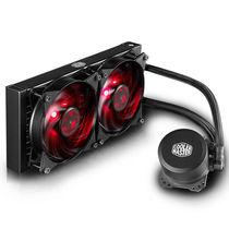 酷冷 冰神B240 CPU水冷散热器(多平台支持Ryzen/双腔水泵/微流道设计/均衡型风扇)产品图片主图