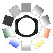 C&C PM方形渐变镜套装10P62mm专业方镜支架方形插片系统中灰镜头渐变灰摄影减光镜uv配件