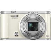 卡西欧 EX-ZR3700 数码相机(3.0英寸 广角25mm 180度可上翻液晶屏)美颜自拍相机 白色