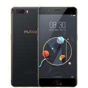 努比亚 M2 4G+128G 高配版 黑金色 移动联通电信4G手机 双卡双待