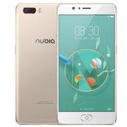 努比亚 M2 4G+128G 高配版 香槟金 移动联通电信4G手机 双卡双待