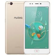 努比亚 M2青春版 4G+32G 香槟金 移动联通电信4G手机 双卡双待