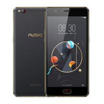 努比亚 M2青春版 4G+32G 黑金色 移动联通电信4G手机 双卡双待产品图片主图