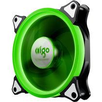 爱国者  极光 12CM绿光 电脑机箱风扇(小3P+大4P双接口/水冷排散热/减震脚垫/赠4螺丝)产品图片主图