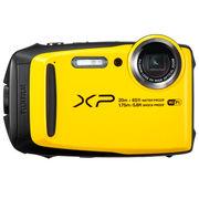 富士 XP120 运动相机 黄色 四防卡片机 防水防尘防震防冻 5倍光学变焦 WIFI分享 光学防抖