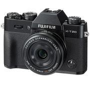 富士 X-T20 XF27 黑色 微单电套机 2430万像素 翻折触摸屏 4K WIFI