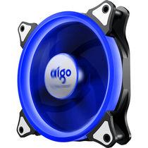 爱国者  极光 12CM蓝光 电脑机箱风扇(小3P+大4P双接口/水冷排散热/减震脚垫/赠4螺丝)产品图片主图