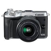 佳能 EOS M6(15-45)微型可换镜数码相机 银色产品图片主图