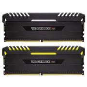海盗船  复仇者RGB灯条 DDR4 3000 16GB(8Gx2条)  台式机内存 RGB光