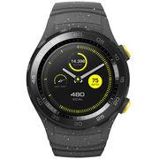 华为 WATCH 2 第二代智能运动手表蓝牙版 蓝牙通话 GPS心率FIRSTBEAT运动指导 NFC支付 星空灰