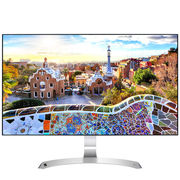 LG 27MP89HM-S 27英寸 四面微边框IPS爱眼滤蓝光超高色域显示器 MAXXAudio扬声器