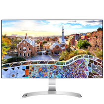 LG 27MP89HM-S 27英寸 四面微边框IPS爱眼滤蓝光超高色域显示器 MAXXAudio扬声器产品图片主图
