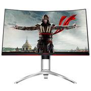AOC 爱攻II AG322QCX 31.5英寸 2K高清 144hz 1800R 大屏曲面全接口游戏电竞升降显示器