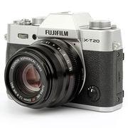 富士 X-T20 XF35 F2 银色 微单电套机 2430万像素 翻折触摸屏 4K WIFI