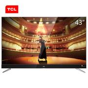 TCL 43C2 43英寸 RGB真4K超高清 64位34核智能电视(黑色)