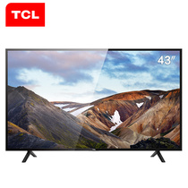 TCL L43P1A-F 43英寸 海量影视资源同步院线智能LED网络平板电视机(黑)产品图片主图