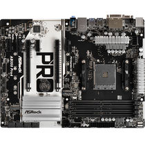华擎 AB350 PRO4主板(AMD B350/AM4 Socket)产品图片主图